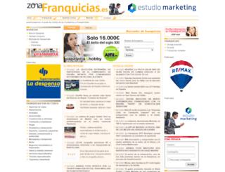 zonafranquicias.es screenshot