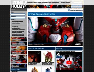 zonahobby.com screenshot