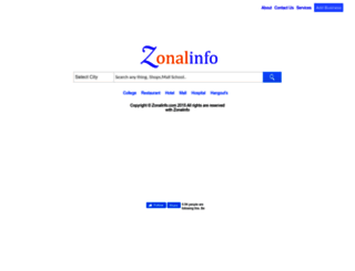 zonalinfo.com screenshot