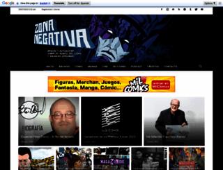 zonanegativa.com screenshot