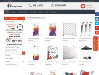 zonaplotter.com screenshot