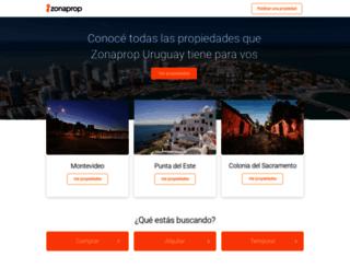 zonaprop.com.uy screenshot