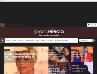 zonaselecta.com screenshot
