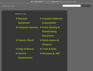 zoneas.com screenshot