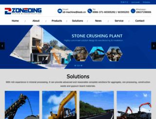 zoneding.com screenshot