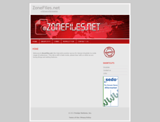 zonefiles.net screenshot