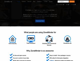 zoneminder.com screenshot