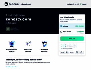 zonesty.com screenshot