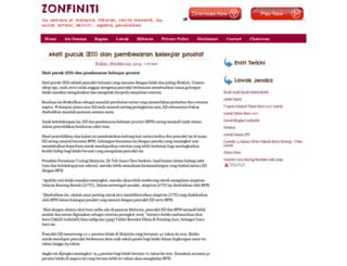 zonfiniti.blogspot.com screenshot