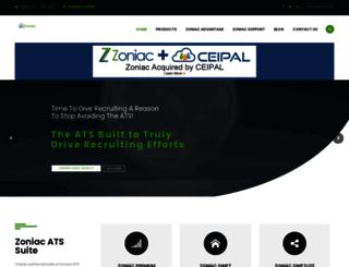 zoniac.com screenshot
