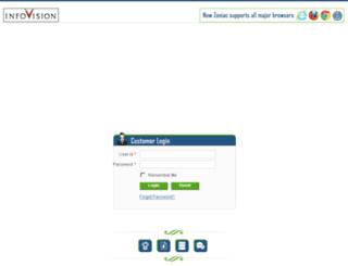 zoniac.infovision.com screenshot