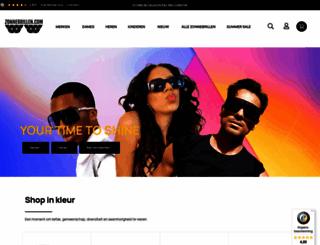 zonnebrillen.com screenshot