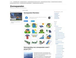 zonnepanelen-nieuws.be screenshot