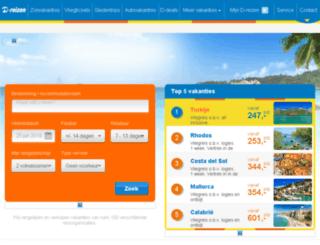 zonvakanties.d-reizen.nl screenshot