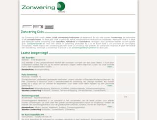 zonwering-gids.com screenshot