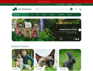 zoo-dragon.pl screenshot