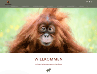 zoo-neunkirchen.de screenshot