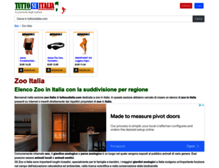 zoo.tuttosuitalia.com screenshot