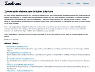 zooburst.com screenshot