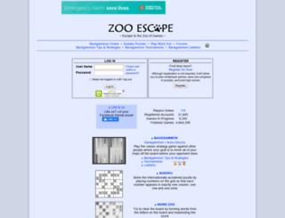 zooescape.com screenshot