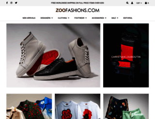zoofashions.com screenshot