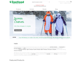 zoohood.co.uk screenshot
