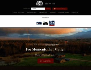 zookcabins.com screenshot