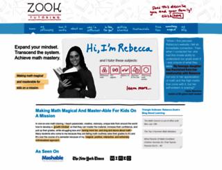 zooktutoring.com screenshot
