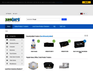 zoolert.com screenshot