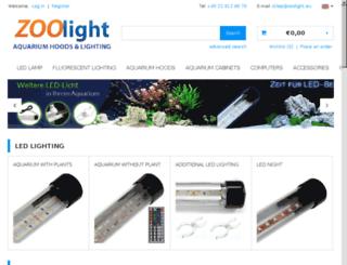 zoolight.co.uk screenshot