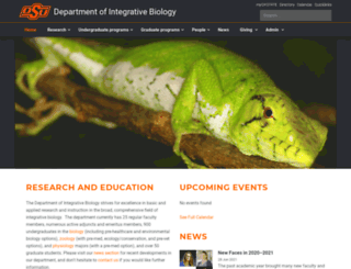 zoology.okstate.edu screenshot