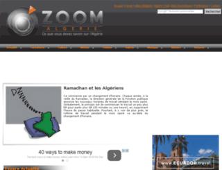 zoom-algerie.com screenshot