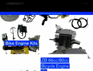 zoombicycles.com screenshot