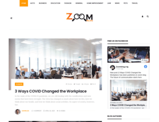 zoomblog.org screenshot
