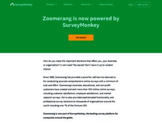 zoomerang.com screenshot
