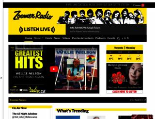 zoomerradio.ca screenshot