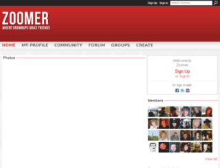 zoomers.ca screenshot