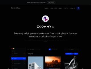 zoommyapp.com screenshot