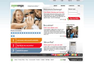 zoomonga.com screenshot