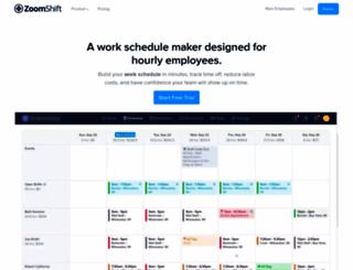 zoomshift.com screenshot