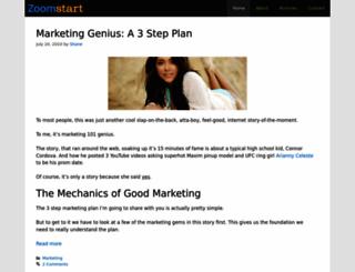 zoomstart.com screenshot