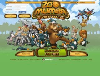 zoomumba.cz screenshot