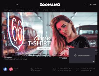zoonamo.com screenshot