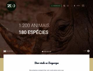 zooparque.com.br screenshot