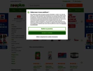 zooplus.be screenshot