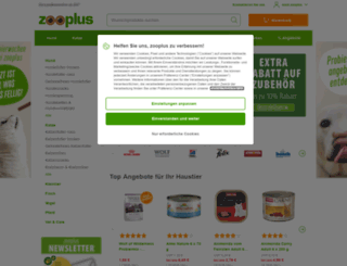 zooplus.de screenshot