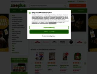 zooplus.se screenshot