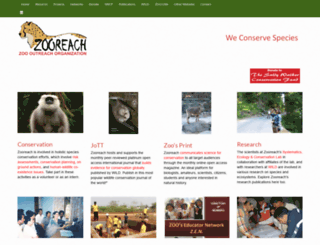 zooreach.org screenshot