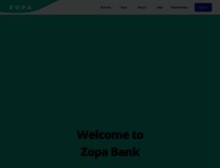 zopa.com screenshot