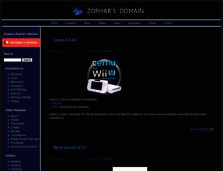 zophar.net screenshot